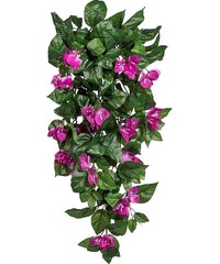 Kunstpflanze »Bougainvilleahänger« lila (H: 90 cm)