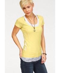 Damen T-Shirt (Set mit Top) KangaROOS gelb 32/34 (XS),36/38 (S),40/42 (M),44/46 (L),48/50 (XL),52/54 (XXL)