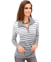 COLLECTION L. Damen Sweatshirt grau 38,40,42,44,46,48,50,52,54