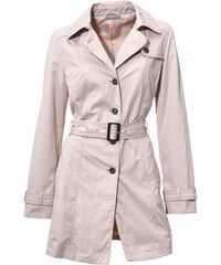 ASHLEY BROOKE Damen Trenchcoat rosa 34,36,38,40,42,44,46,48,50,52
