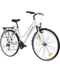 CHRISSON Trekkingrad (Damen) »INTOURI LADY weiß matt, 71,12 cm (28 Zoll)«