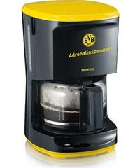 Severin Kaffeautomat KA 9743, echter Borussia Dortmund Fanartikel, schwarz-gelb