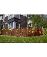 PROSPERPLAST Minizaun »Garden Classic« braun