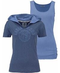 KangaROOS Print-Shirt (Set, 2 tlg., mit Top)