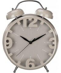 Hama Tischuhr im Wecker Design geräuscharme Uhr ohne Ticken »Nostalgie Retro Wanduhr, 24 cm«