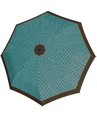 Doppler Regenschirm, Taschenschirm grün »Magic Carbonsteel Sparkling«