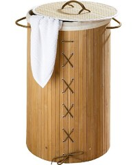 Wenko Wäschetruhe »Bamboo«, Natur, Wäschekorb,