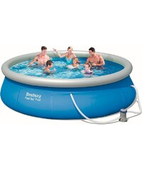 BESTWAY Set: Quick-Up Pool »Fast Set Pool«, mit Filterpumpe, ØxH: 366 x 76 cm
