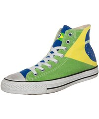 Converse CHUCK TAYLOR ALL STAR HI GRAPHICS CANVAS Sneaker high brasil flag stone washed