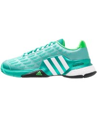 adidas Performance BARRICADE 2016 Boost Tennisschuh Outdoor shock mint/white/solar lime