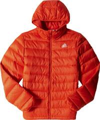 adidas BASIC JACKET oranžová M