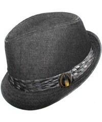 Elegantní pánský klobouk šedý