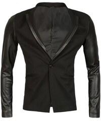 Sportovní blazer Young & Rich černý