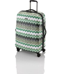 Travelite Graphix 4w M Green zigzag
