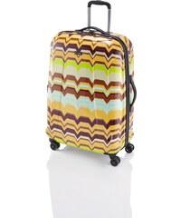 Travelite Graphix 4w L Yellow zigzag
