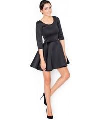 KATRUS Dámské šaty K227 black