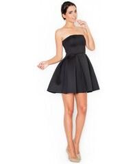 KATRUS Dámské šaty K223 black