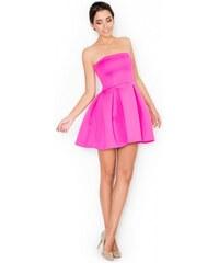 KATRUS Dámské šaty K223 pink