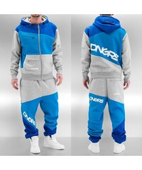 Dangerous DNGRS Sweat Suit Grey/Blue/Denim