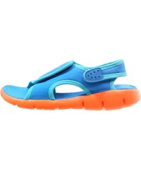 Nike Performance SUNRAY 4 Badesandale photo blue/gamma blue/total orange