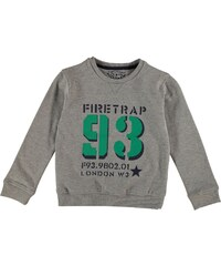 Firetrap Crew Sweater Child Boys Grey Heather