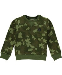 Firetrap Camouflage Crew Neck Sweater Child Boys Green