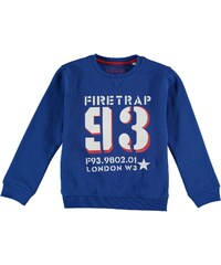 Firetrap Crew Sweater dětské Boys Snorkel Blue