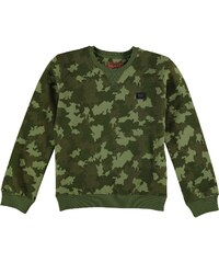 Firetrap Crew Sweater dětské Boys Green