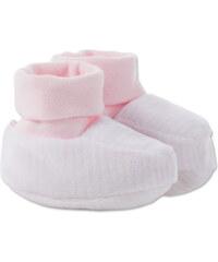 C&A Baby-Schühchen in weiß / Rosa