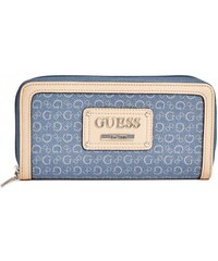 GUESS GUESS Proposal Zip-Around Wallet - midnight blue