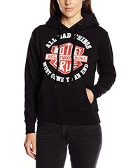 Motley Crue Damen Kapuzenpullover Bad Boys Shield
