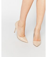 ASOS - PERU - Chaussures pointues à talon - Beige