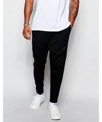 Nike - Tech - Pantalon de jogging skinny court en molleton - 727355-010 - Noir