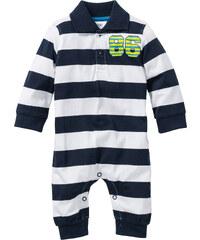 bpc bonprix collection Combinaison bébé en coton bio, T. 56/62-92/98 blanc manches longues enfant - bonprix