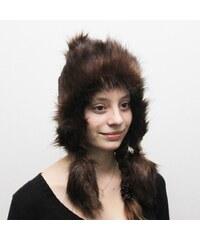 STARLING čepice dámská zimní ušanka 12038X kožíšek