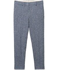 GANT Rugger Pantalon Smarty Motif Pied-de-poule - Persian Blue