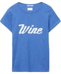 GANT Rugger T-shirt Pull Wine - Palace Blue