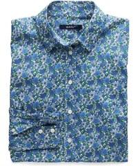 GANT Chemise En Popeline à Motif Floral - Yale Blue
