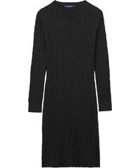GANT Robe En Coton Stretch Torsadé - Black