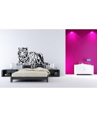 Xdecor Ležící tygr (98 x 52 cm) - Samolepka na zeď