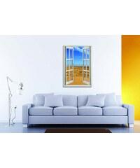 Xdecor Poušť 2 (130 x 100 cm) - Okno dekorace
