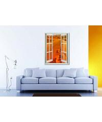 Xdecor Poušť (80 x 62 cm) - Okno živá dekorace