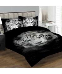 Xdecor Bílý tygr 200 x 140 cm, 90 x 70 cm - Povlečení