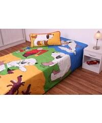 JAN Přehoz na postel jednolůžko Maxipes Fík - hrací deka