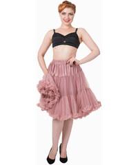 """Banned Vintage Pink Spodnička k šatům 23"""" M-L"""