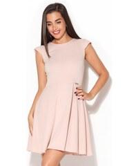 KATRUS Dámské šaty K162 pink