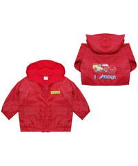 E plus M Chlapecká červená bunda s fleecem Cars