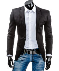Pánské sako - černá Velikost: L