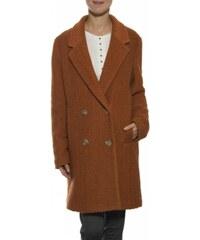 Dámský kabát Mismash Bellyna - Tm.oranžový