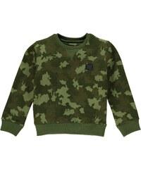 Mikina Firetrap Camouflage Crew dět. zelená